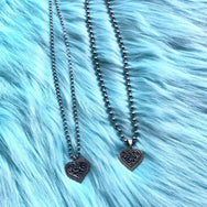 Love Heart Bead Necklace DB3039