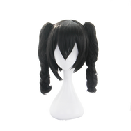 Nico Yazawa cos black double ponytail wig DB5332