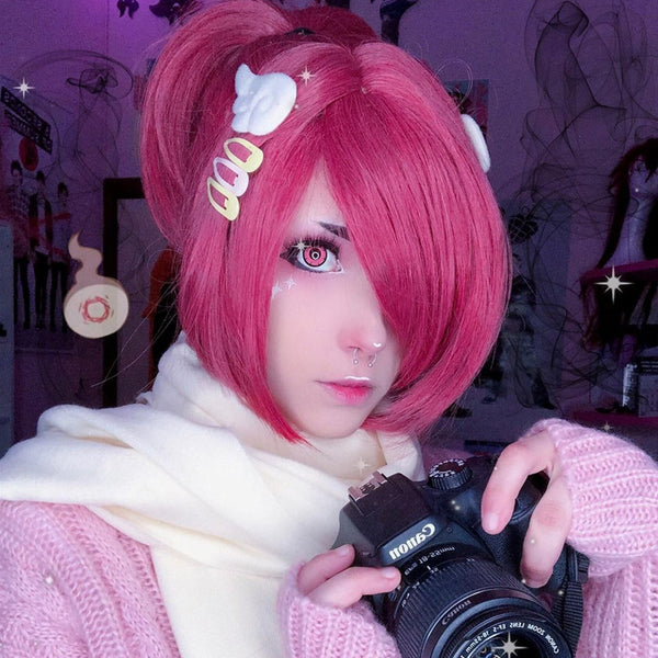 Review from Mitsuba COS PINK WIG DB5580