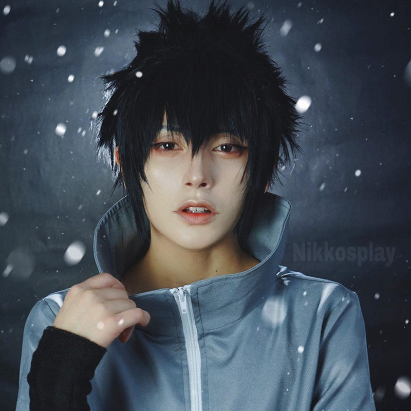Review from Uchiha Sasuke cos wig DB4378