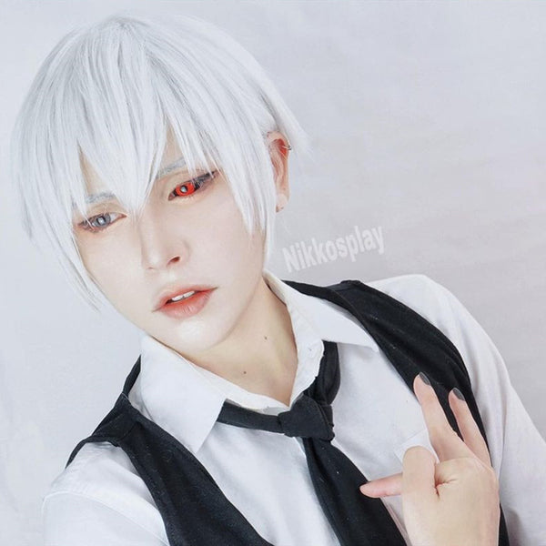 Review from Tokyo Ghoul cos wig + mask DB5087