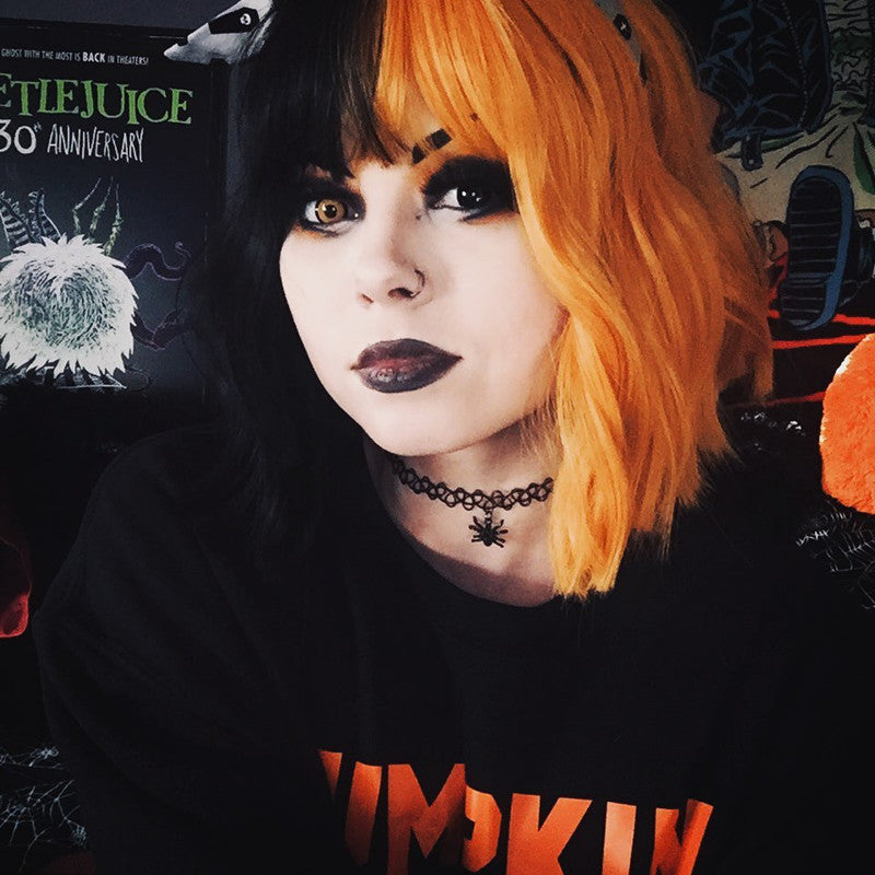 Review from Lolita black + orange wig DB4751