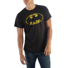 Load image into Gallery viewer, Batman Oval Logo Black T-Shirt