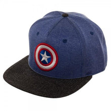 Load image into Gallery viewer, Captain America Two Tone Cationic Snapback