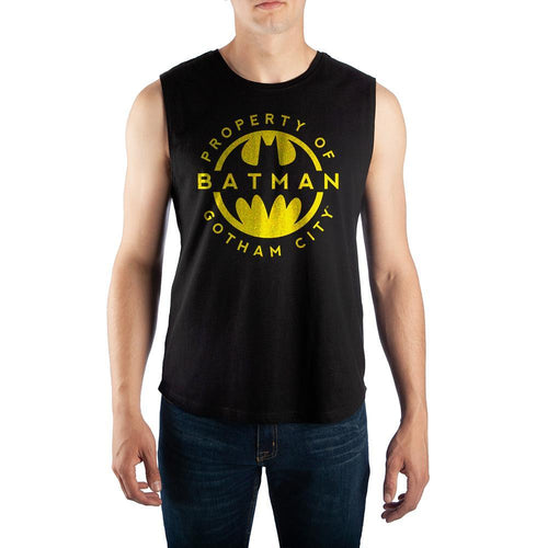 DC Comics Mens Shirt Batman Muscle Tank