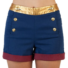 Load image into Gallery viewer, DC Comics Wonder Woman High Waisted Shorts