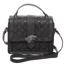 Load image into Gallery viewer, Game Of Thrones House Stark Quilted Detail Hand Bag