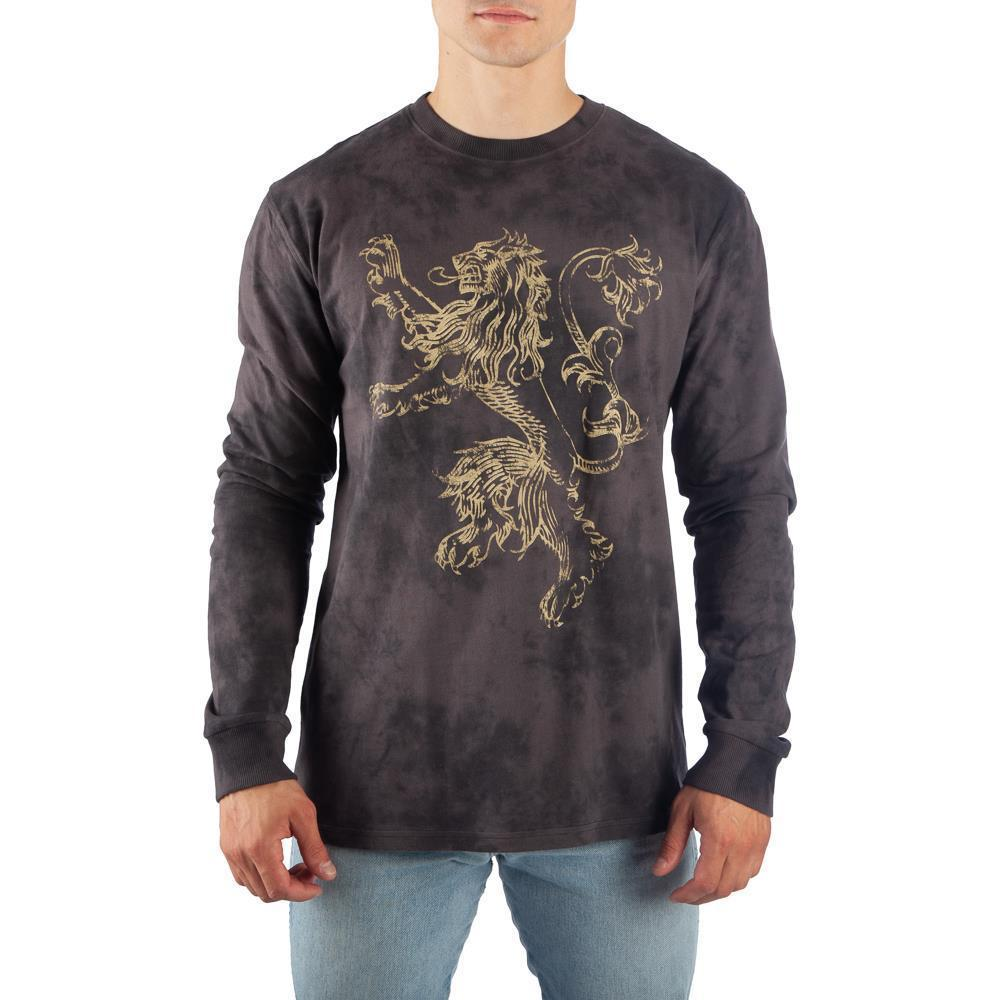 Game of Thrones Long Sleeve Shirt Lannister TShirt Game of Thrones TShirt