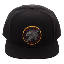 Load image into Gallery viewer, God Of Thunder Black Snapback