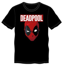 Load image into Gallery viewer, Marvel Comics Deadpool Movie Costume Face Men's Black T-Shirt