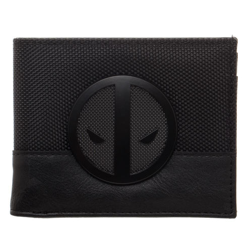 Marvel Deadpool X-Force Insignia Faux Leather Bi-Fold Wallet