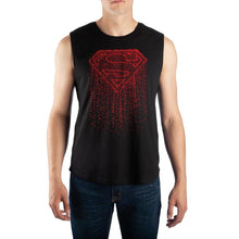 Load image into Gallery viewer, Mens DC Comics Shirt Superman Muscle Shirt