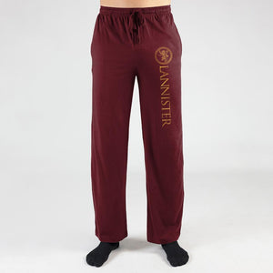 Mens Game Of Thrones Sweatpants House Lannister