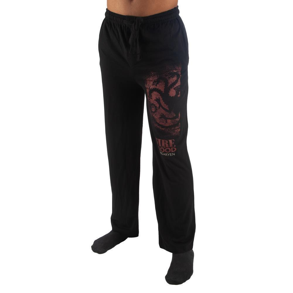 Mens Game of Thrones Pants House Targaryen