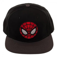 Load image into Gallery viewer, Ultimate Spiderman Black Snapback