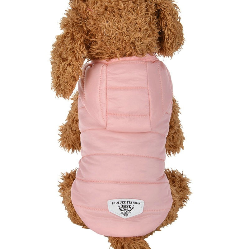 Small Dogs Warm Coat Cloth