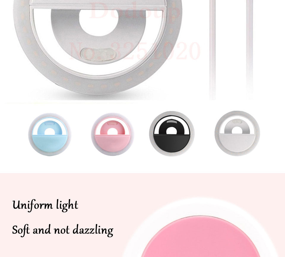 LED Rechargeable Selfie Light