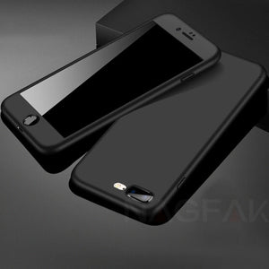 IPhone 360 Degree Full Body Hard Cover Case
