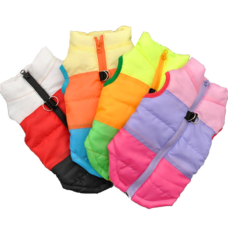 Dogs Windproof  Outfit Vest Coat Jacket