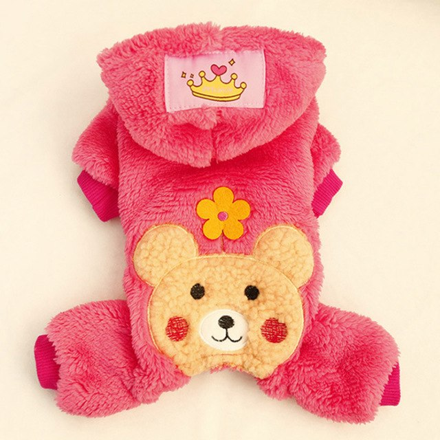 Small Dogs Pet Coat Hoodies