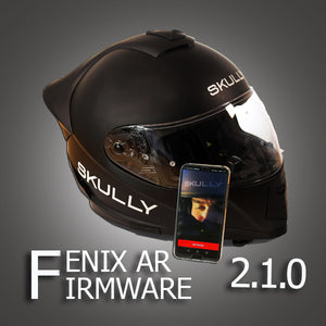 SKULLY Technologies updates the FENIX AR firmware. Version 2.1.0