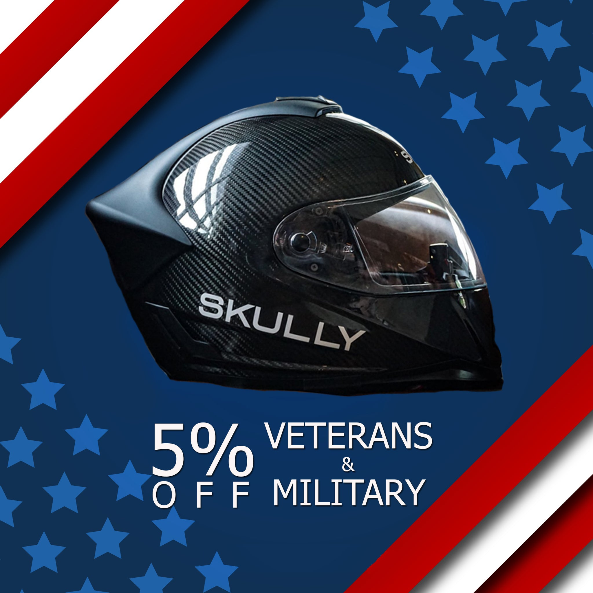 5% Discount for Veterans and Military