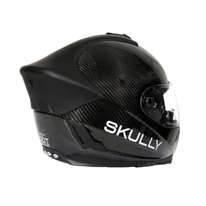 skully fenix ar carbon rear camera smart helmet road