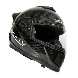 skully fenix ar carbon rear camera smart helmet
