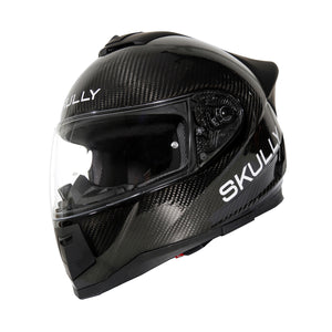 skully fenix ar carbon camera smart helmet
