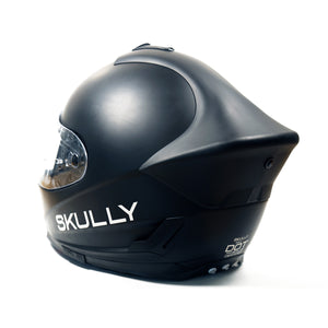 skully fenix ar matte camera smart helmet back