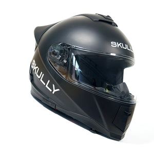 skully fenix ar matte camera smart helmet carbon