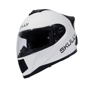 skully fenix ar white camera smart helmet