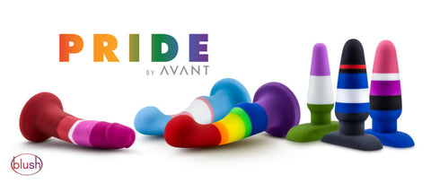 Get in touch with pride toys from Avant by blush number one pride toys available.