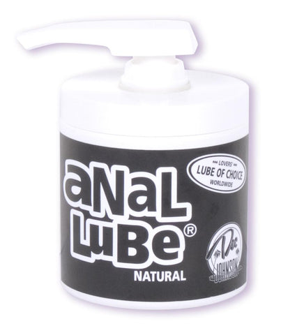 Buy now Anal Lube 4.5oz. Pump (Natural) Doc Johnson