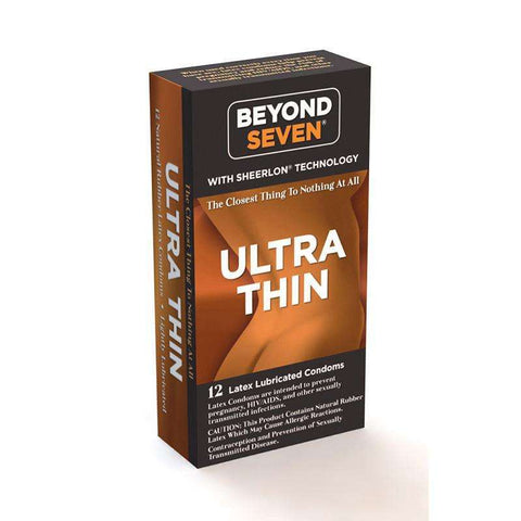 Sex Toys Beyond Seven Ultra Thin 12pk Paradise Marketing Services buy now