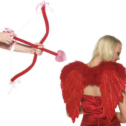 Sex Toys Cupid Kit includes bow, arrow and wings O/S Red Leg Avenue buy now