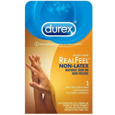 Sex Toys Durex Avanti Bare Real Feel NonLatex (3) Paradise Marketing Services buy now