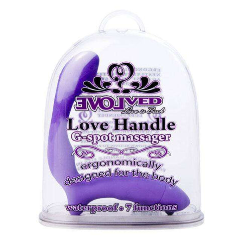 Sex Toys Evolved Love Handle G-Spot MS (Purple) Vibrators G Spot buy now