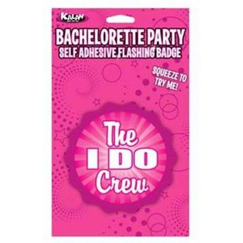 "Sex Toys Flashing Badge: The ""I Do"" Crew Bachelorette Kalan LP buy now"