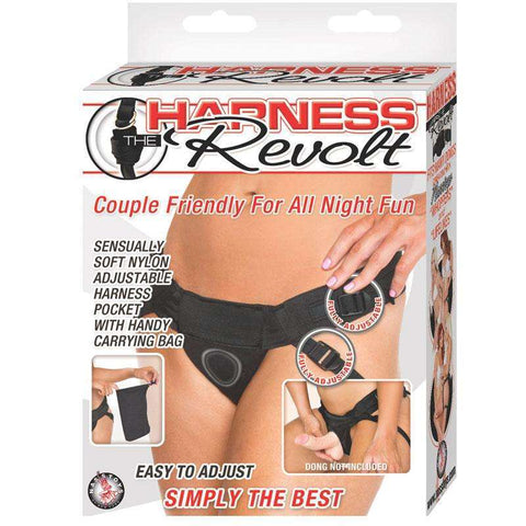 Sex Toys Harness the Revolt (Black) Nasstoys buy now