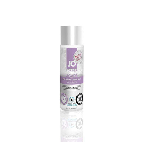 Sex Toys JO Agap? Cooling Lubricant (WaterBased) 2 fl oz / 60 ml System Jo buy now