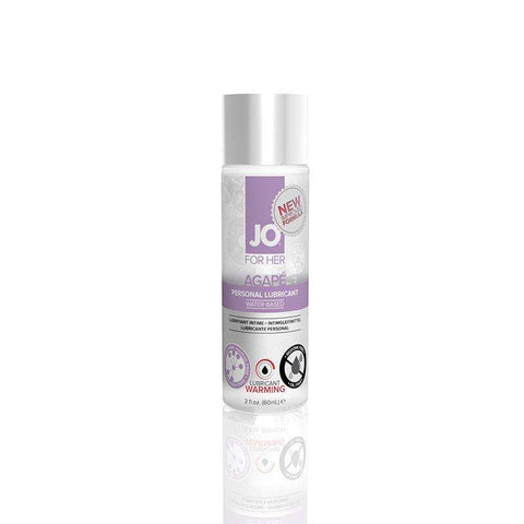 Sex Toys JO Agap? Warming Lubricant (WaterBased) 2 fl oz / 60 ml System Jo buy now