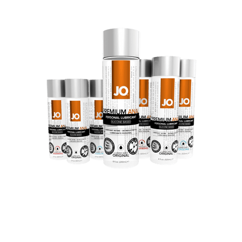 Buy now JO Anal Lubricants Choose Silicone and Water Based Choose Size and Type Sex Lube