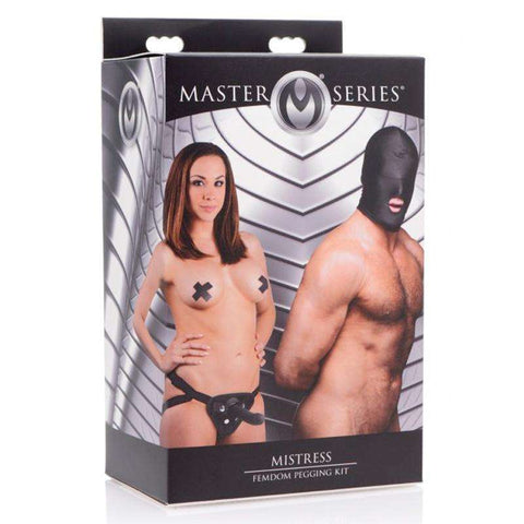 Sex Toys Masters Mistress FemDom Pegging Kit fetish XR buy now
