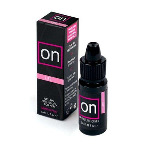 Sex Toys On Arousal Oil Lite 5ml Bottle Lube Cream and Oil Based buy now