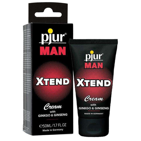 Sex Toys Pjur Man Xtend Cream .50ml/1.7oz Tube Pjur Enhancers Topical Lotion for Men buy now