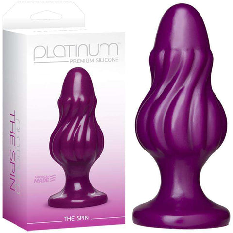 Sex Toys Platinum The Spin Purple Doc Johnson buy now
