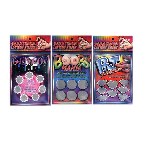 Sex Toys Scratcher: Girls Night Out Ozze Creations Sex Games buy now