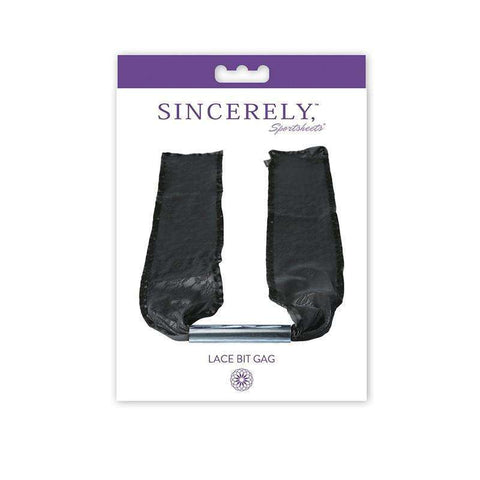 Sex Toys Sincerely, Sprotsheets Lace Bit Gag Sportsheets buy now