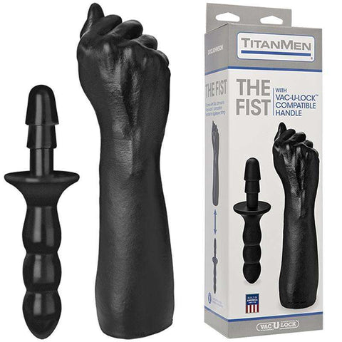 Sex Toys Titanmen The Fist w/Vac-U-Lock Handle Doc Johnson buy now